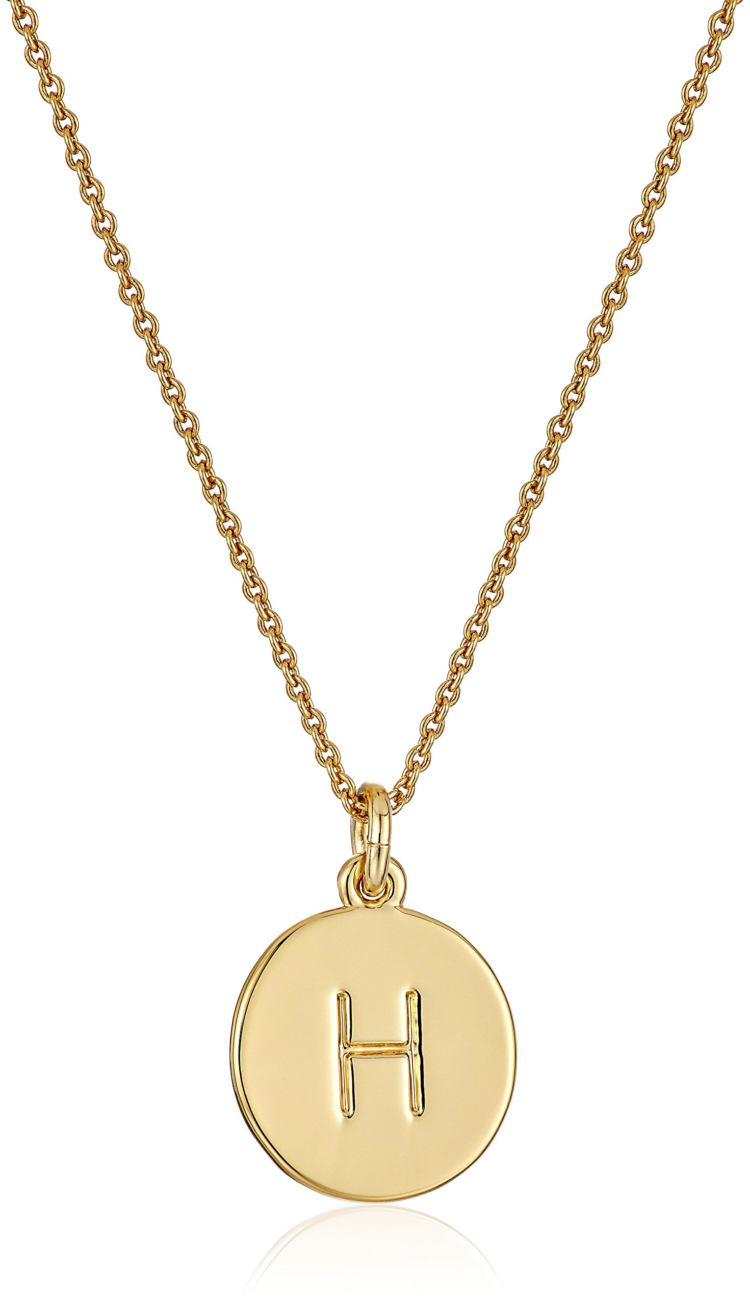 Kate Spade New York ''Kate Spade Pendants H Pendant Necklace, 17'' + 3.5'' Extender
