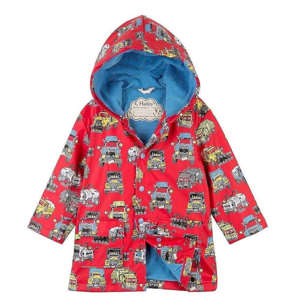 Hatley Monster Trucks Red Raincoat