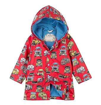 5063a3281 Amazon.com  Hatley Boys  Monster Trucks Raincoat  Clothing