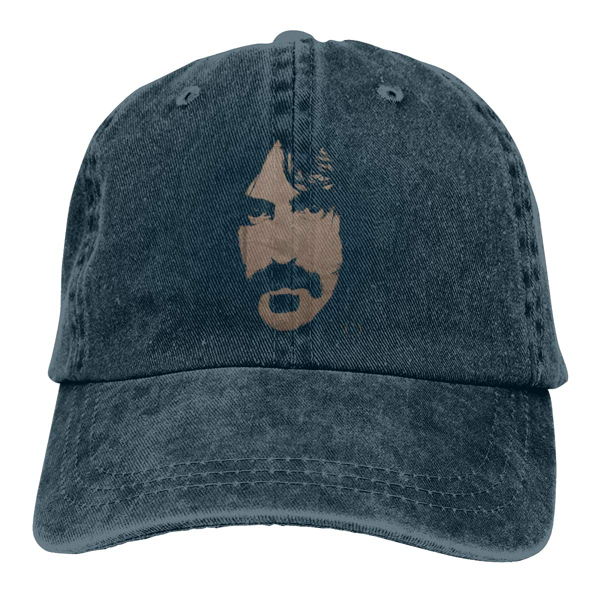 Zlizhi Frank Zappa Men Women Plain Cotton Adjustable Washed Twill Low Profile Baseball Cap Hat