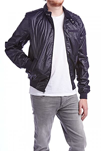 Members Only Coated Classic 47777 a Chaqueta Hombre Azul Oscuro Small: Amazon.es: Ropa y accesorios