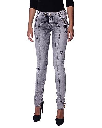 9b1001d4fa11 Pierre Balmain - Women s Jeans Acid Washed Super Skinny (7M7000 28473 900)