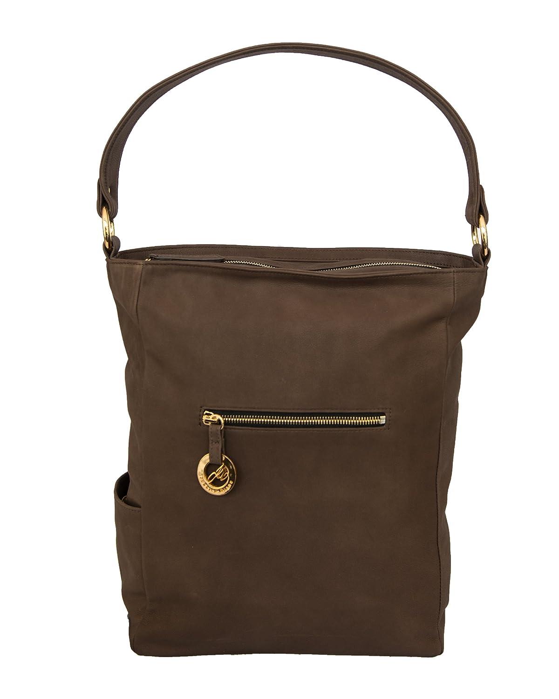 Jessica Diane Luxury Handbag: Chocolate Diamanti