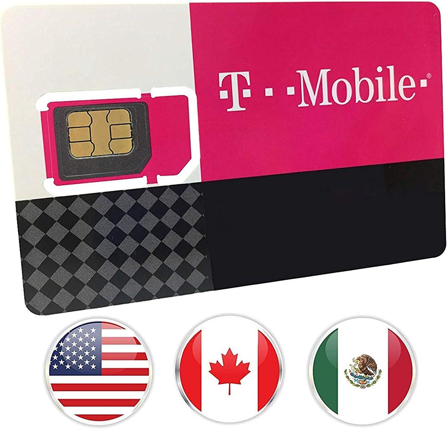 Tarjeta SIM prepagada USA Canad/á y M/éxico AT/&T Network Precargada 22 GB 4G LTE Datos y Llamadas y Textos ilimitados 9 d/ías