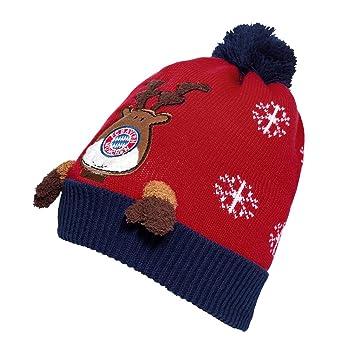FC Bayern Munich Christmas Beanie Bobble Hat ff0a5a272d7