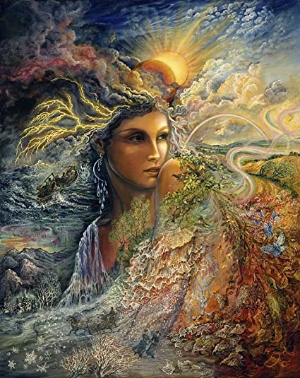 Amazon.com: Great Art Now Spirit Of The Elements by Josephine Wall ...