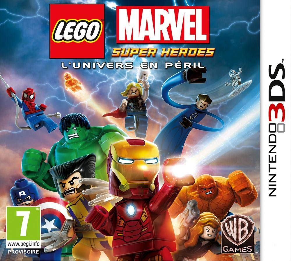Third Party - Lego Marvel Super Heroes Occasion [ Nintendo 3DS ] - 5051889379065
