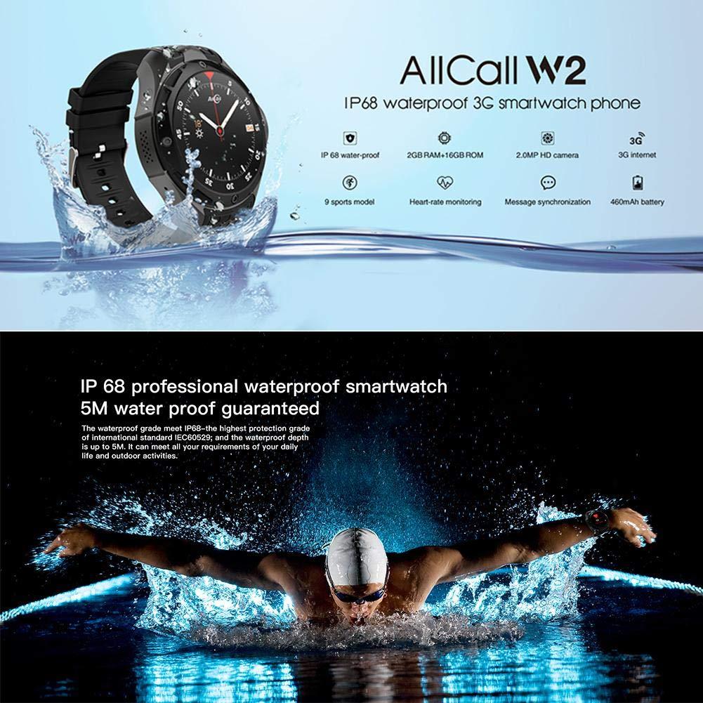 JUNERAIN Allcall W2 IP68 - Reloj Inteligente Deportivo ...