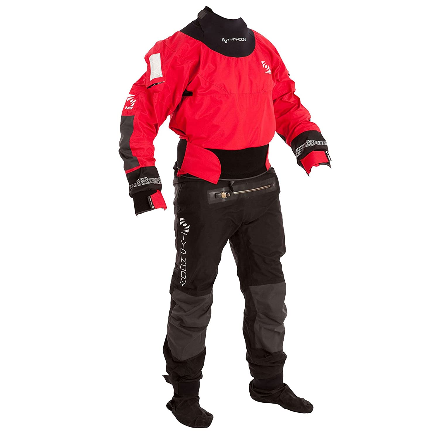 Typhoonマルチスポーツ4 Drysuit with B015RK94QI Con Zip + FREE Thermal Drysuit Thermal Undersuit B015RK94QI XX-Large, 日本防災センター:6730b985 --- itxassou.fr