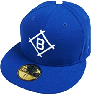best sneakers 1a1ab 48b43 New Era Brooklyn Dodgers Dark Royal Cooperstown MLB Cap 59fifty 5950 Fitted  Basecap Kappe Men Special