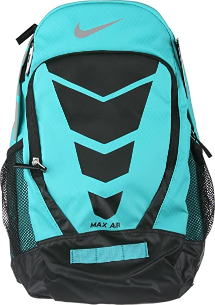0b6d33186d Image Unavailable. Image not available for. Color: Nike Vapor BP Large  Backpack Lite Retro Blue/Black/Met Silver