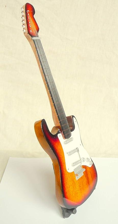 Guitarra en miniatura decorativa Guitarra Guitar Fender ...