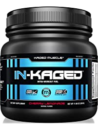 KAGED MUSCLE, IN-KAGED Intra Workout Powder, Intra-Workout Fuel, L-Citrulline, Workout, Boost Energy, Muscle Pump, Intra...