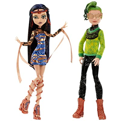 Monster High Boo York, Boo York Comet-Crossed Couple Cleo de Nile and Deuce Gorgon Doll, 2-Pack (Discontinued by manufacturer): Toys & Games [5Bkhe0200950]