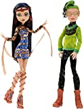 "Monster High - Poupée Mannequin - Couple Boo York Cleo De Nile & Deuce Gorgon 10.5"" Doll 2-Pack"