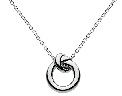 Kit Heath Sterling Silver Infinity Necklace of Length 45.7 cm