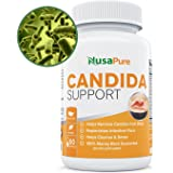 Candida Cleanse: Yeast Infection Treatment: Thrush Treatment: Caprylic Acid, Oregano Oil, Acidophilus, Wormwood, Black Walnut and Probiotics to Treat Candida Overgrowth and Yeast Infections: 60 Caps