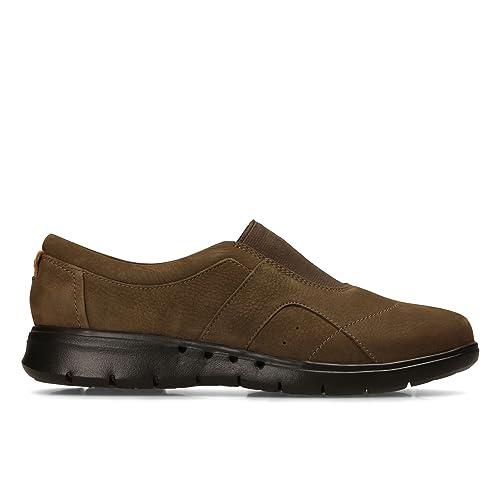 Clarks Un Still zapatos zapatos Still de cordones de Piel para mujer verde  verde ffee9b 88428de8de9e