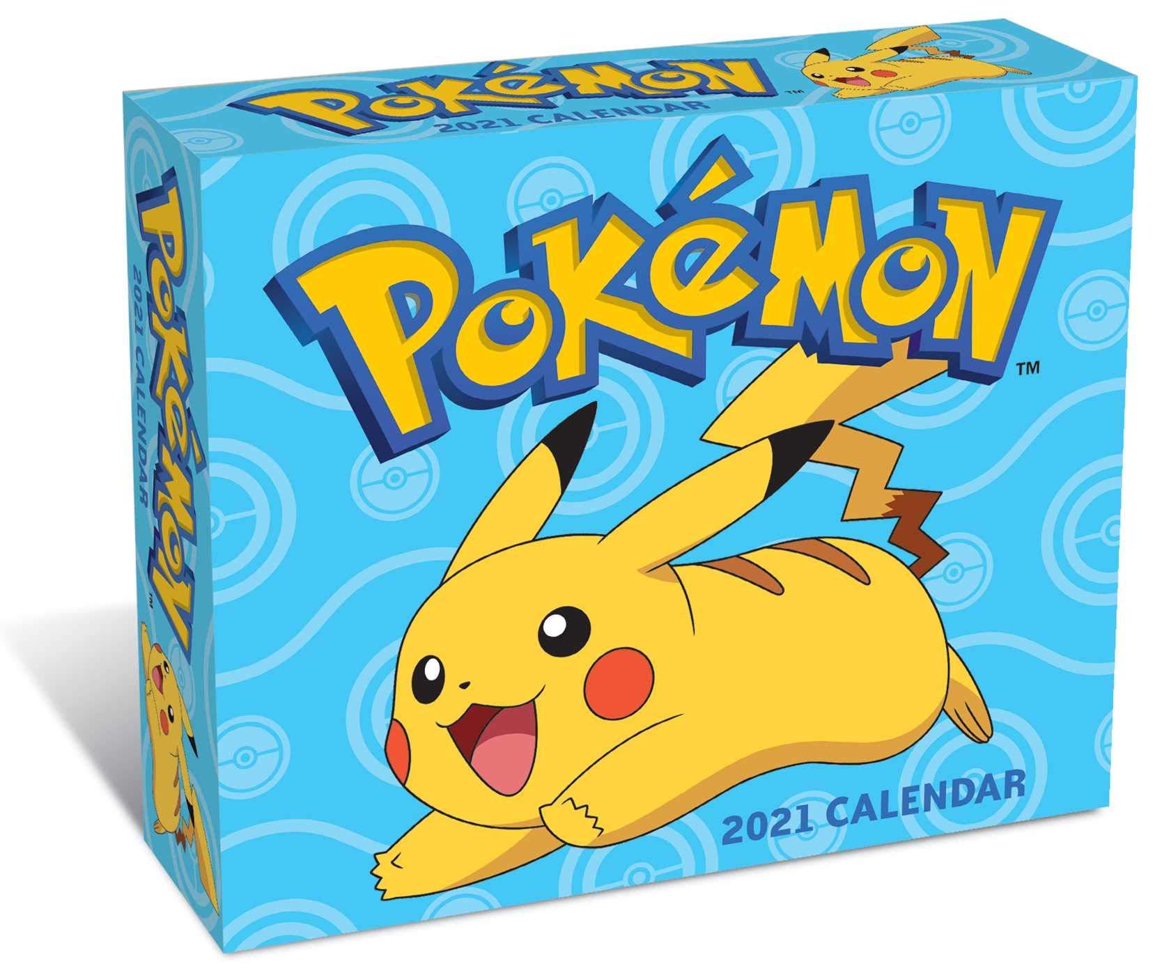 Pokemon 2021 Day to Day Calendar: Pokémon: 0614234352233: Amazon
