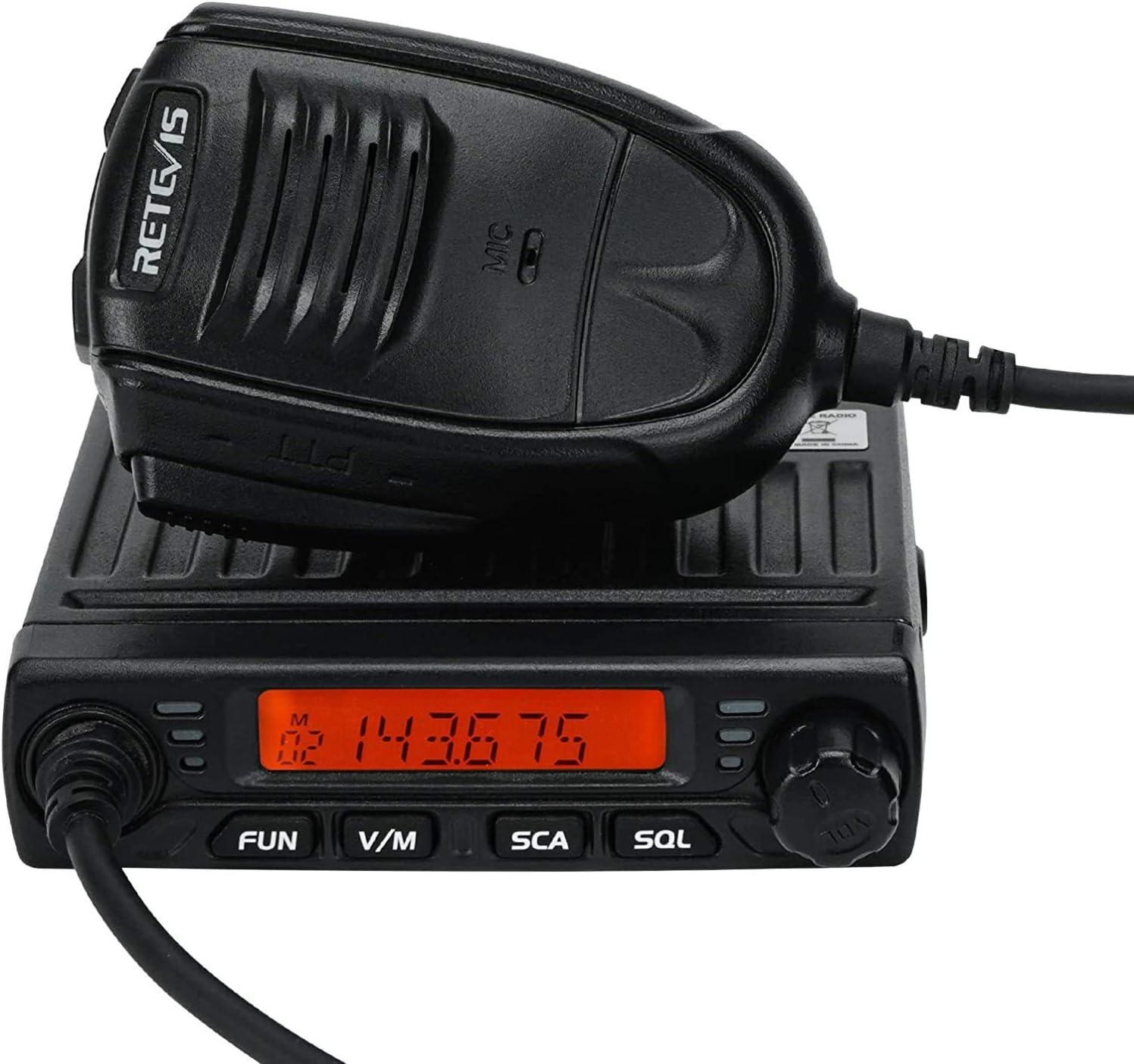 Retevis Rt98 Mobile Transceiver 15w 10w Elektronik