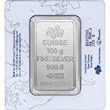 100 Gram Silver Bar - PAMP Suisse - Fortuna
