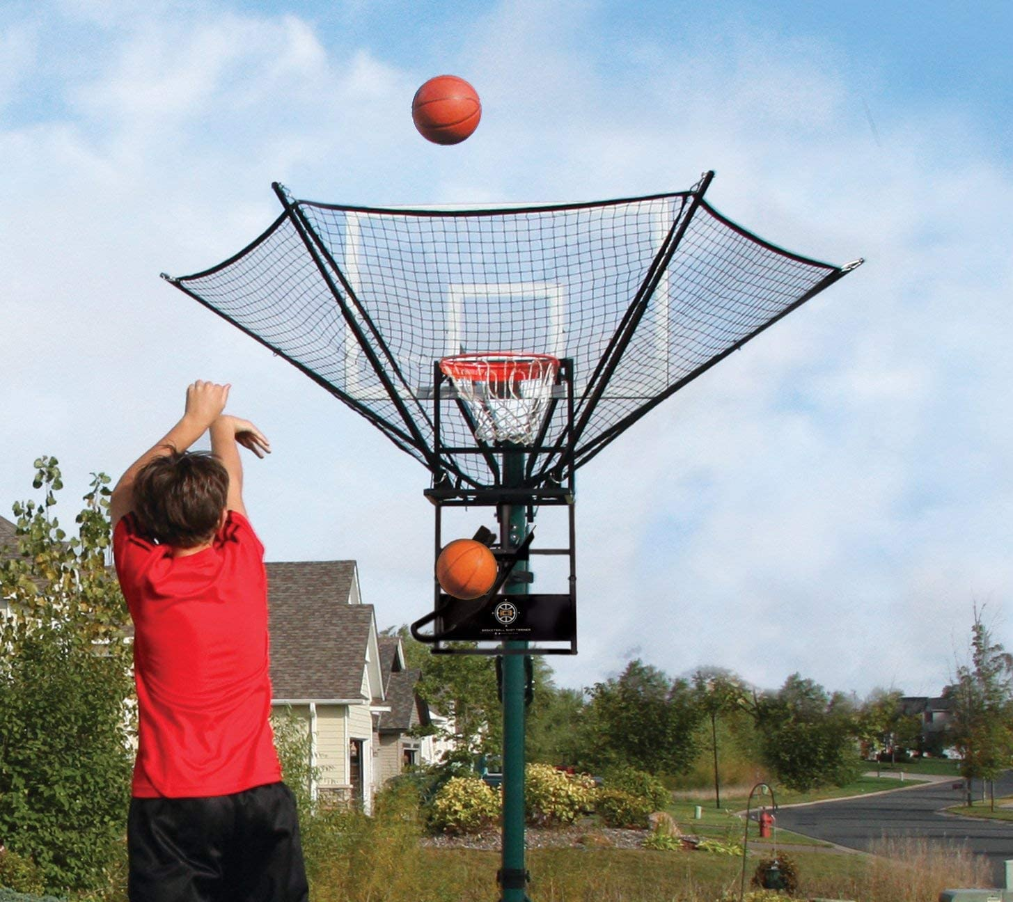 Amazon.com : iC3 Basketball Shot Trainer : Basketball Returns : Sports &  Outdoors