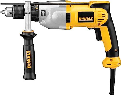 DEWALT Hammer Drill, 1 2-Inch, 10-Amp, Pistol Grip DWD520