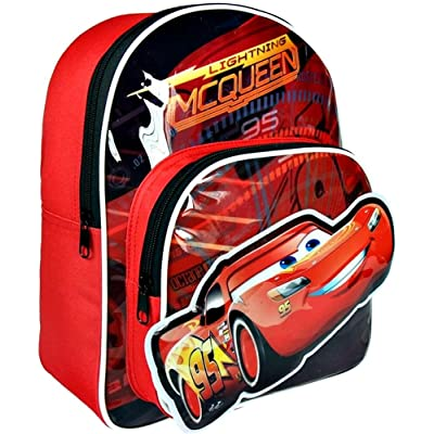 Cerdá-2100002176 Cars Bolsa Escolares, Color Azul, 30 cm (2100002176: Juguetes y juegos