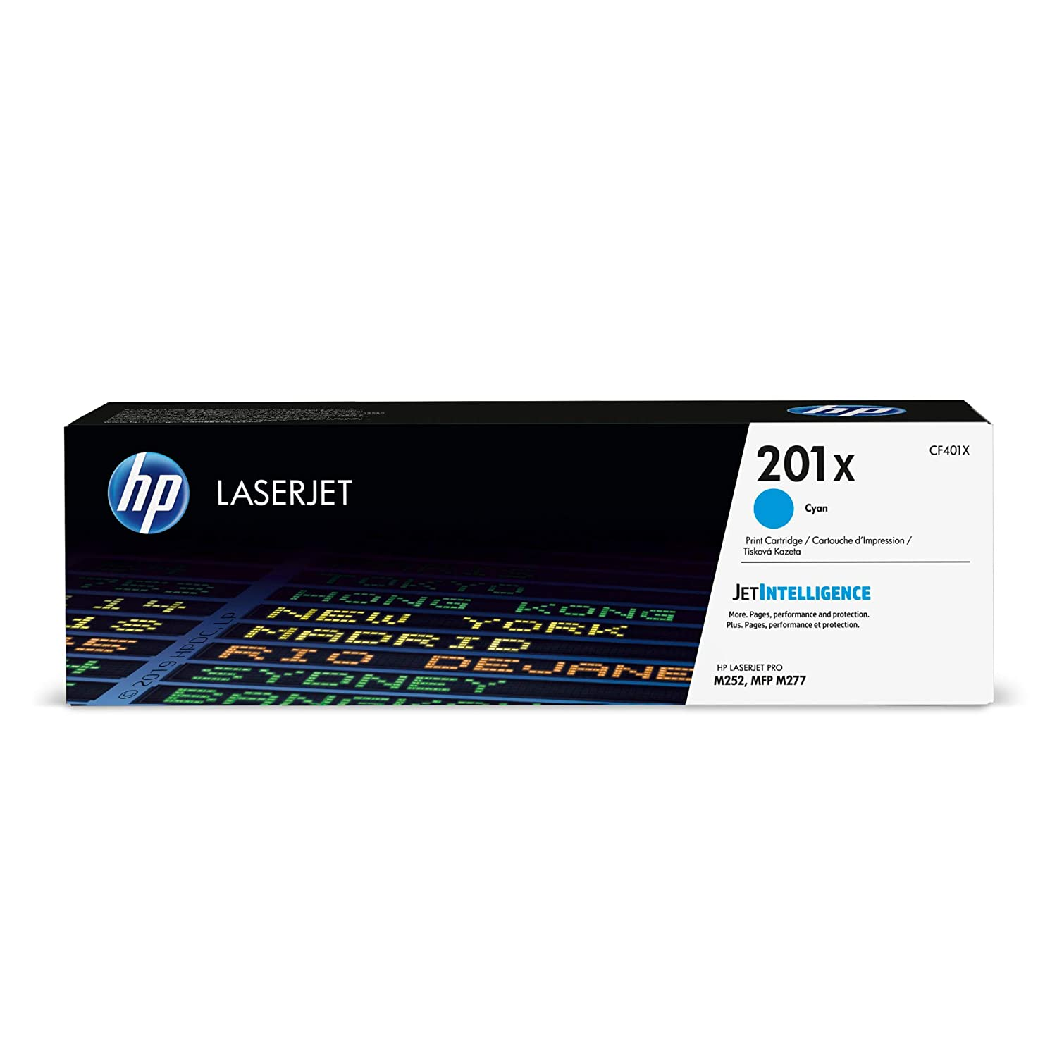 HP 201X | CF401X | Toner Cartridge | Cyan | High Yield