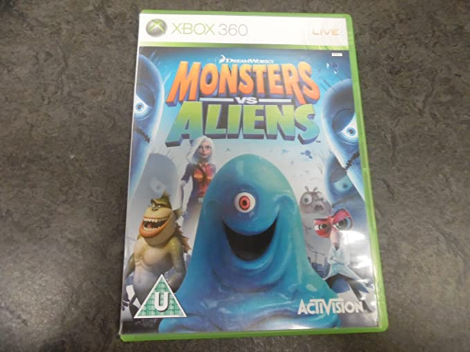 Monsters vs. Aliens [Importación Inglesa]: Amazon.es ...