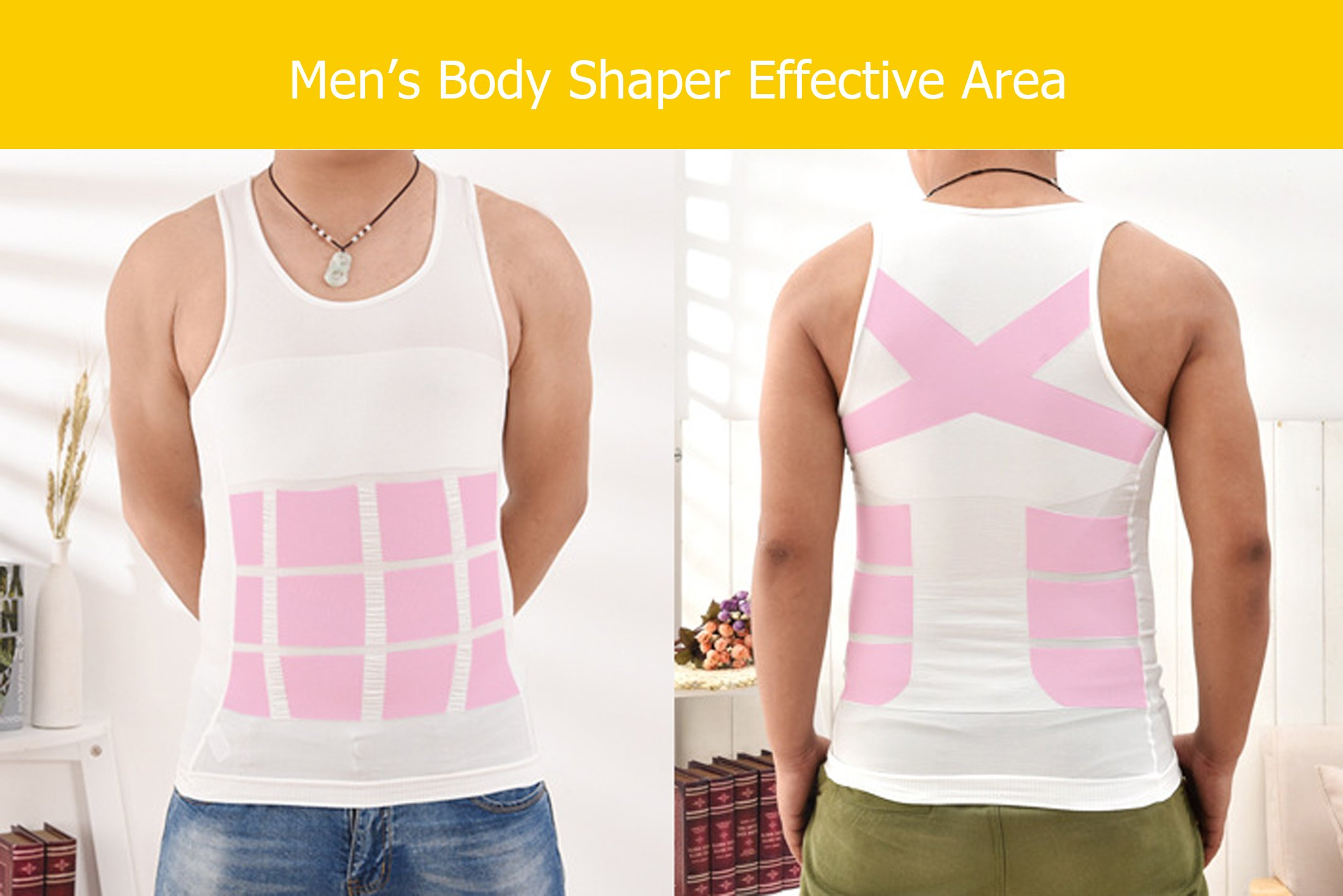 3a5d30677132e Wise Men s Compression Shirt - Tummy Slimming Body Shapers - Belly  Compressions Vest   Compression Tops   Sports   Outdoors - tibs