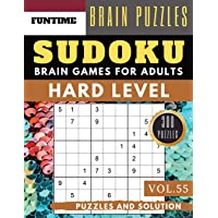 Hard Sudoku: Huge 300 hard SUDOKU puzzle books - sudoku hard to extreme difficulty Maths Book to Challenge Your Brain…