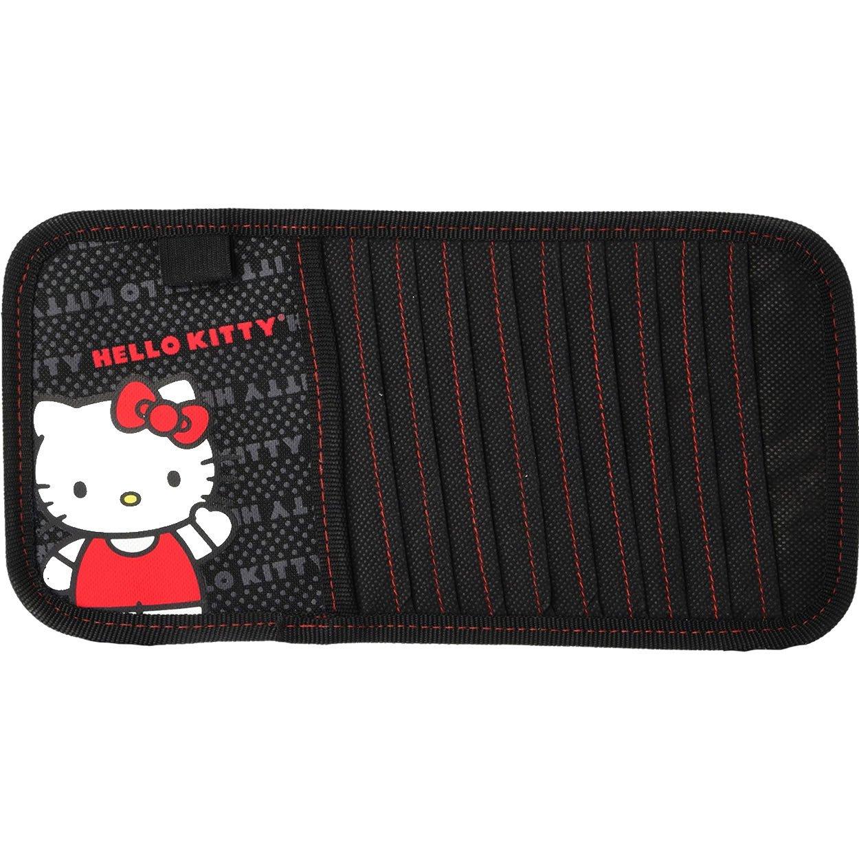 Plasticolor 006290R01 Hello Kitty ''Core'' CD/DVD Visor Organizer