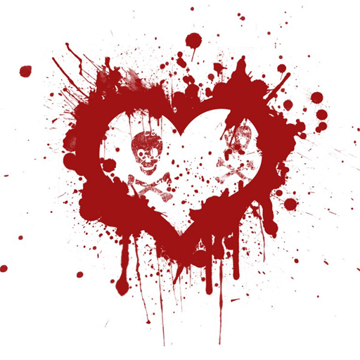 I Love You Wallpaper In Blood : Blood Heart Hd Pic Wallpaper sportstle