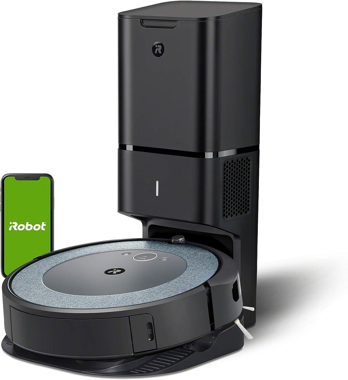 Aspirateur Robot connecté iRobot® Roomba® i3552 - système d'autovidage - 2 brosses...