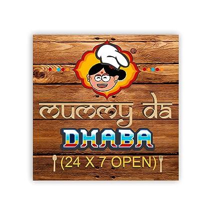 Buy YaYa Cafe Birthday Gifts For Mom Mummy Da Dhaba Fridge Magnet