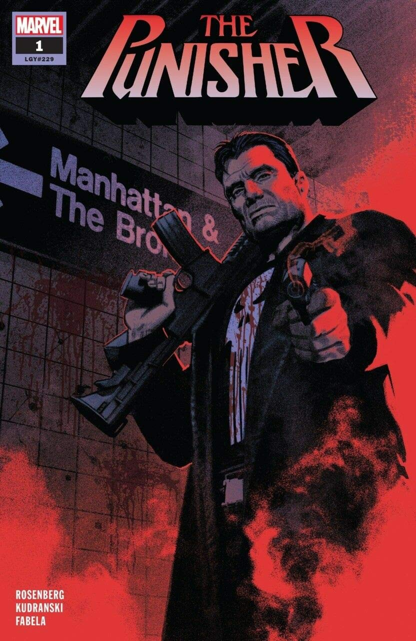 NM Marvel Comics 1st Print The Punisher #2 2018