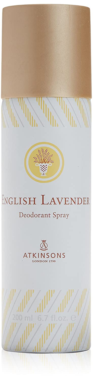English lavander di Atkinsons, Deodorante Donna - Bomboletta 200 ml. Atkinsons Italy 39453