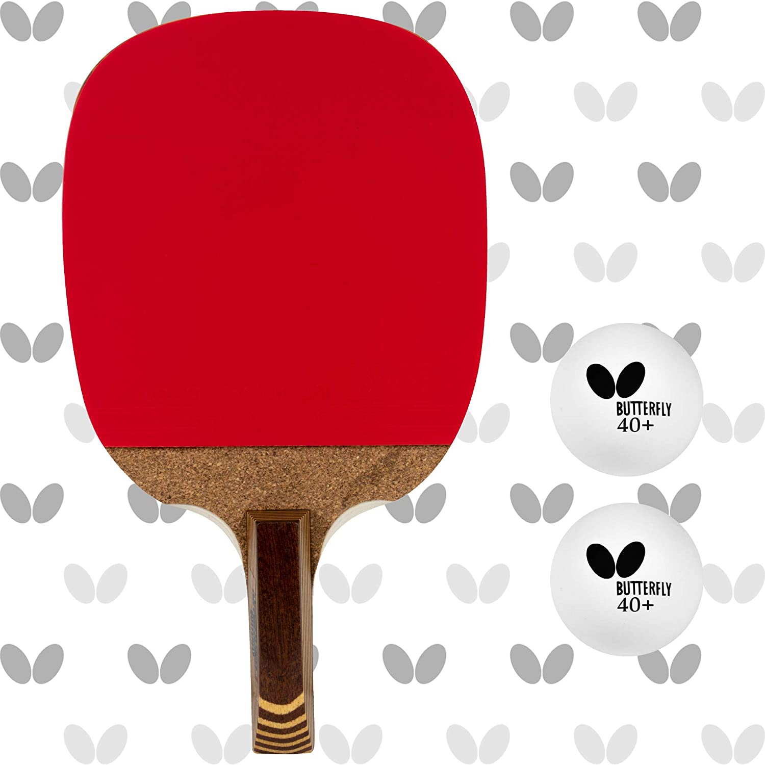 Butterfly Nitchugo Japanese Penhold Table Tennis Racket