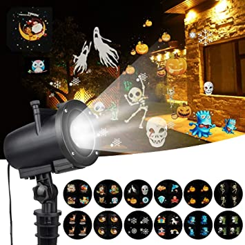 HLDUYIN Christmas Halloween Outdoor Base Light LED Christmas Anime ...