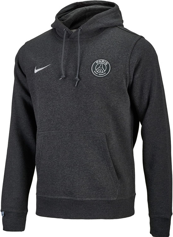 Bombero Labe Para construir  Amazon.com : Nike Mens Paris Saint-Germain Core Hoodie [Black ...