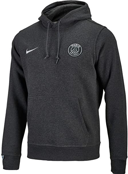 df5acdb7f4631d Amazon.com   Nike Mens Paris Saint-Germain Core Hoodie  Black ...