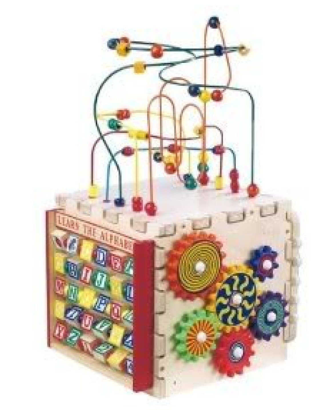 Anatex Deluxe Mini Play Cube w/ Mini Rollercoaster Express, Pathfinder, Counting Abacus & More Toy / Game / Play / Child / Kid [並行輸入品]   B01MU3HCOG