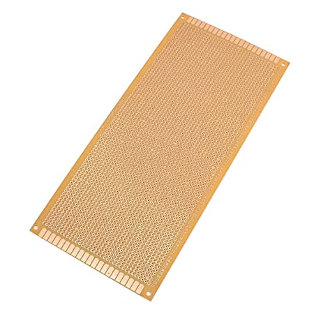 100mmx220mm single side copper coated printed circuit board stripboard