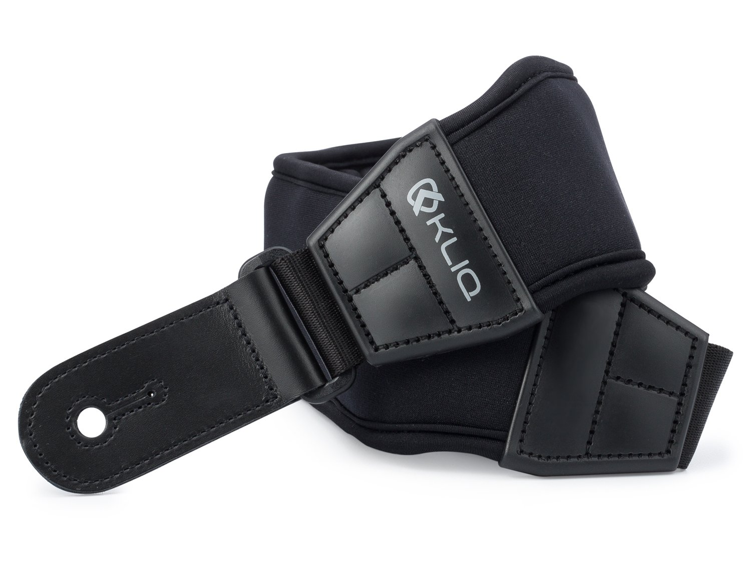 KLIQ AirCell Guitar Strap for Bass & Electric Guitar with 3'' Wide Neoprene Pad and Adjustable Length from 46'' to 56'' by KLIQ Music Gear (Image #8)