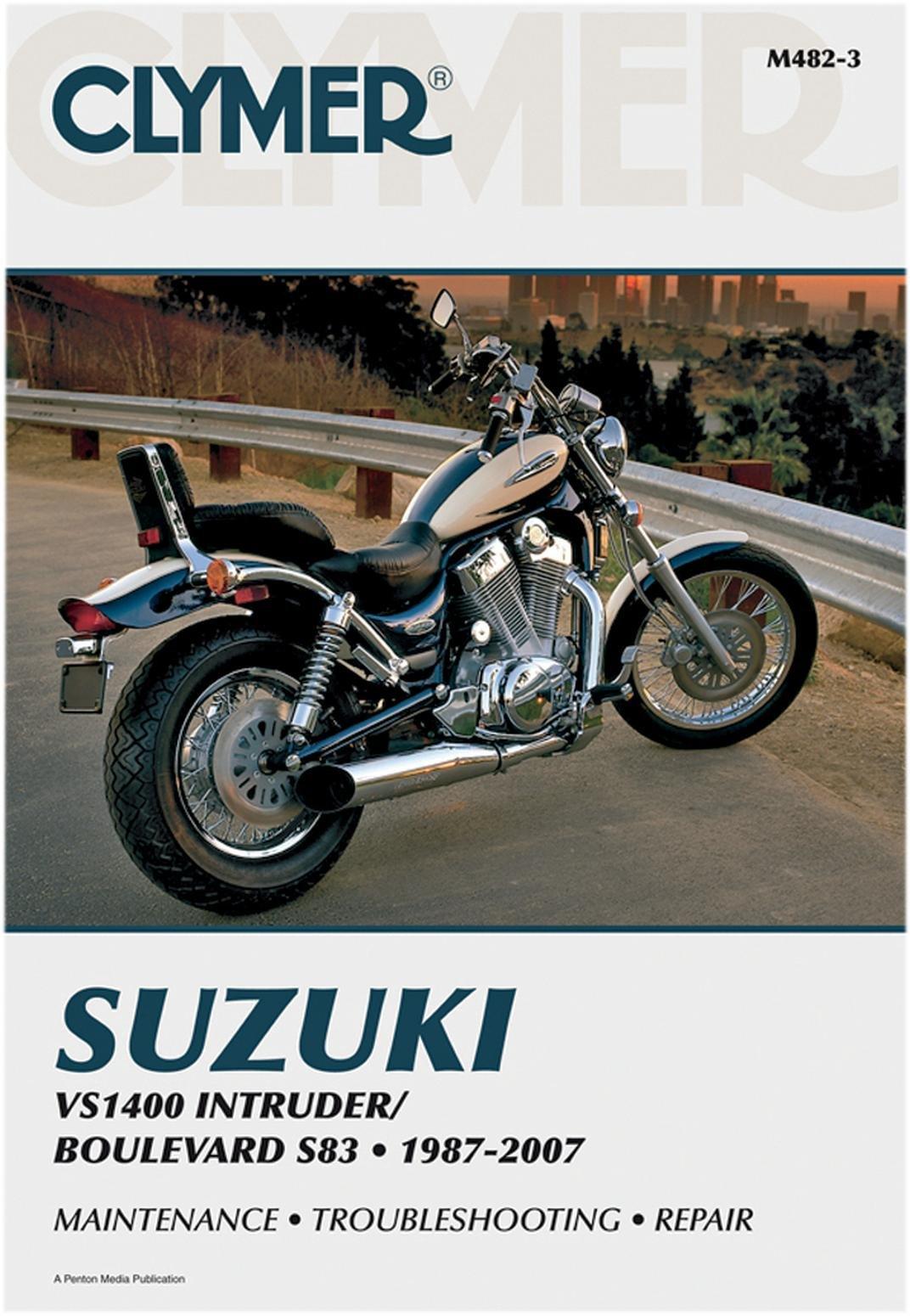 Clymer Repair Manual for Suzuki VS1400 Intruder 87-07