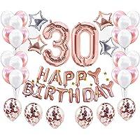 JeVenis 37 Piezas Decoraciones para el 30 cumpleaños
