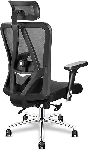 mfavour Ergonomic Office Chair Swivel Desk Chair