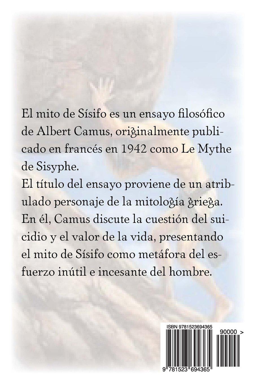 El Mito De Sísifo (Spanish Edition): Albert Camus, Edibook: 9781523694365:  Amazon.com: Books