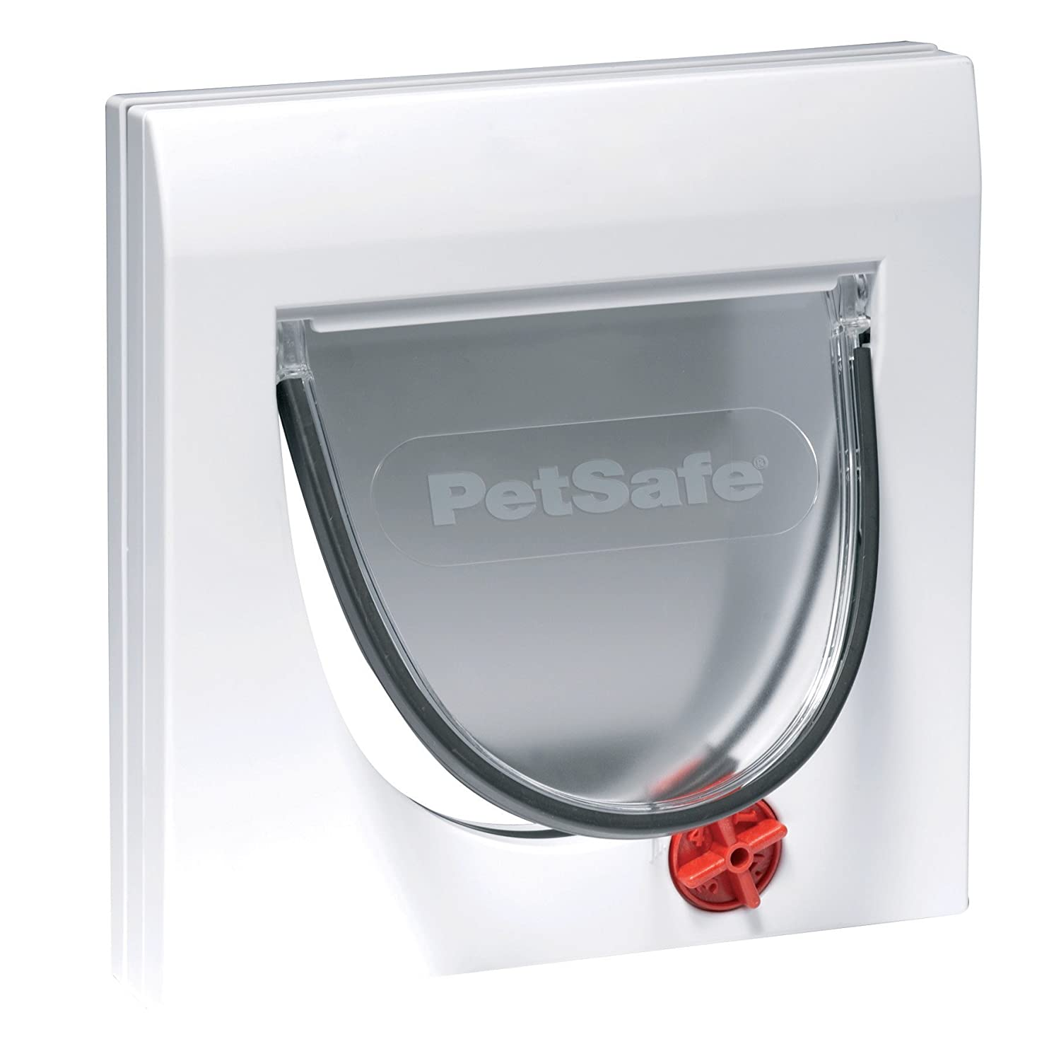 Petsafe Staywell 4 Way Locking Classic Cat Flap Tunnel Included Switch Lowes Easy Install Durable Pet Door For Cats Supplies